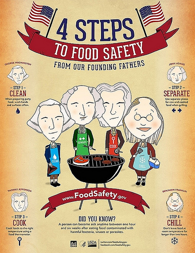 Keep your cook out safe